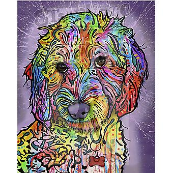 Stamplistic Sweet Poodle Cling Stamp