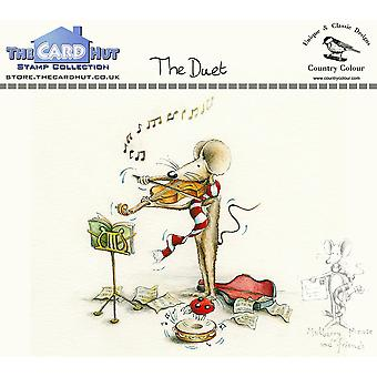 The Card Hut The Duet Clear Stamps