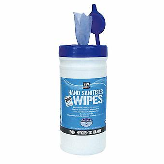 Portwest - Hand Sanitiser Wipes (200 Wipes) Blue Pk200