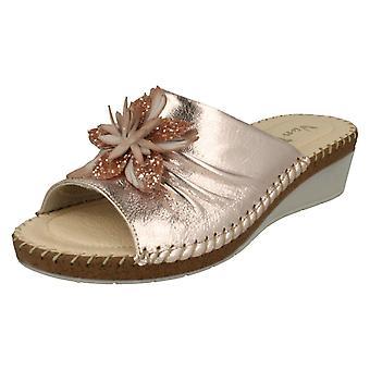 Senhoras Van Dal Wedge Heel Mule Sandálias De Sandálias
