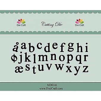 Dixi Craft Alphabet - Lower case Cutting Die