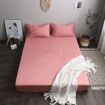 Brúsenie tkaniny jednofarebné matrace chránič kryt, mäkké útulné priedušné