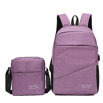 Leisure travel two pieces multifunctional bags