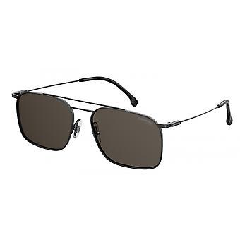 Sunglasses Unisex 186/S dark grey with grey glasses