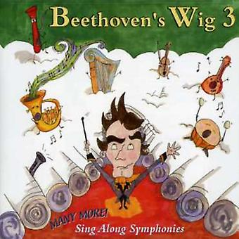 De Beethoven perruque 3 - perruque de Beethoven, Vol. 3 : importation des USA beaucoup plus Sing-Along Symphonies [CD]
