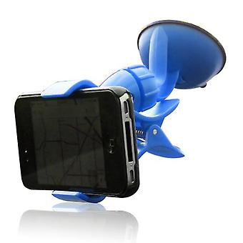 Furinno IP11-BL Easy Mount Suction Universal Car Phone  Mount Holder, Blue