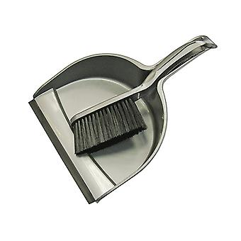 Faithfull Dustpan & Brush Set Plastic (220mm) FAIBRDUSTSET