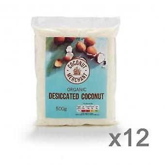 Coconut Merchant - Organic Desiccated Coconut 500g