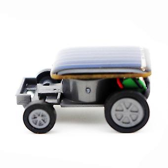 Solar Car Gadget -smallest Power Mini Toy Car Racer