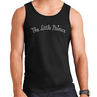 The Little Prince Text Logo Men's Vest