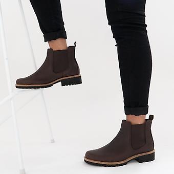 ECCO Elaine Damer Läder Chelsea Boots Mocka