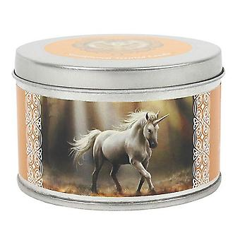 Anne Stokes Glimpse Of A Unicorn Candle