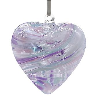 8cm Friendship Heart - Pearl - Unique Gift and Hanging Decoration