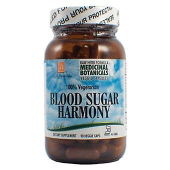 L. A .Naturals Blood Sugar Raw Formula, 90 Veg Caps