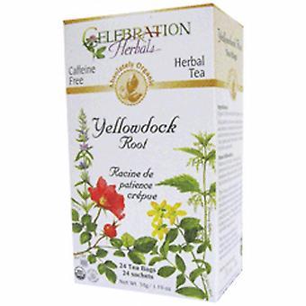 Celebration Herbals Organic Yellowdock Root Tea, 24 Bags