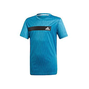Adidas JR Climacool DV1362 training all year boy t-shirt