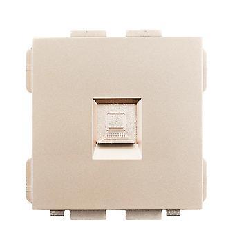 Sran 52*52 Internet Socket Rj45 Function Module Accessories Suitable For 86*86