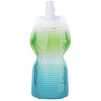 Vesinokkaeläin SoftBottle ja push pull cap 1L - Villi sininen