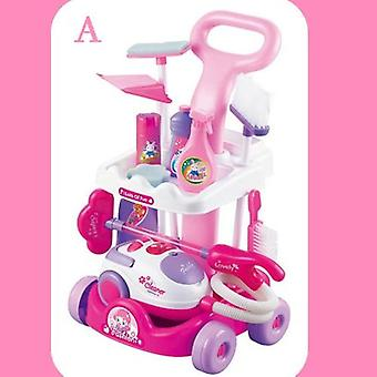 Children's Set Home Simulated Carriage Cleaning Tool, Vacuum Cleaner Small Home
