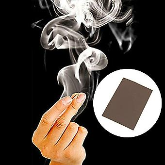 Finger Magic Trucs Tips Surprise Smoke Hand Make Smoke Props Comedy Joke