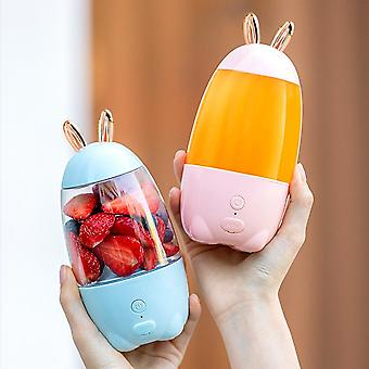 Portable Electric Juicer Fruits Smoothie Blender, Extractor Usb Rechargeable