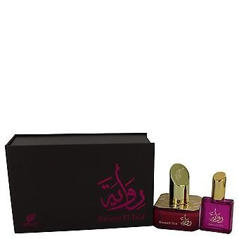 Riwayat el ta'jos eau de parfum spray + vapaa .67 oz travel edp spray by afnan