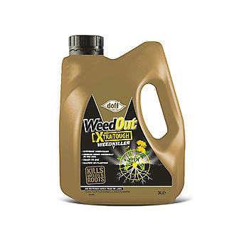 Doff Weedout Extra Tough Ready To Use 3L F-FQ-C00-DOF-02