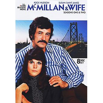 McMillan & Wife: Seasons 1 & 2 [DVD] USA import