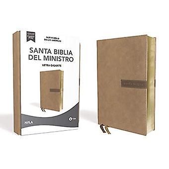 Nbla, Santa Biblia del Ministro, Leathersoft, Beige