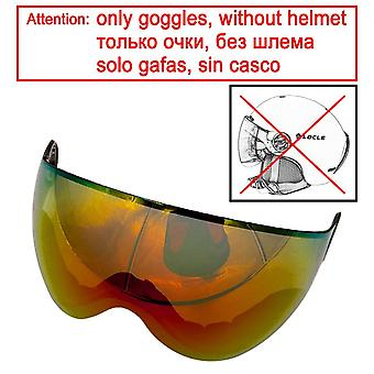 خوذة التزلج مصبوب بشكل متكامل في الهواء الطلق نظارات رياضية الكبار الطفل التزلج