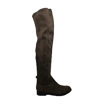 Kenneth Cole Reaction Womens Wind Fabric Round Toe Knee High Fashion Boots