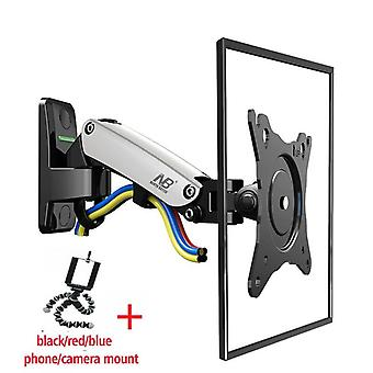 Aluminum Gas Spring 360 Rotate Full Motion Tv Wall Mount Bracket