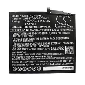 X-Longer Replacement Battery Battery for Huawei MatePad Pro Replaces HB27D8C8ECW-12 Battery Accu