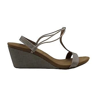 Style & Co. Womens Mulan Fabric Open Toe Casual Slingback Sandals