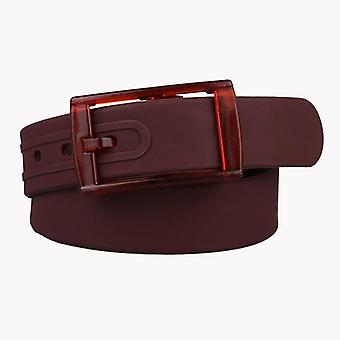 Belt Adjustable Size, Unisex, Scented Plastic Buckle Rubber Belts