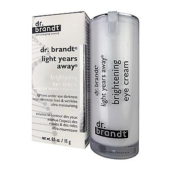 Dr. brandt light years away brightening eye cream 0.5 oz