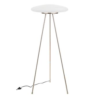 Italux Ufo X - Modern Floor Lamp White 3 Light with Matt Shade, E27