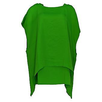 Linea Door Louis Dell'Olio Women's Plus Top Kaftan and Tank Green A306342