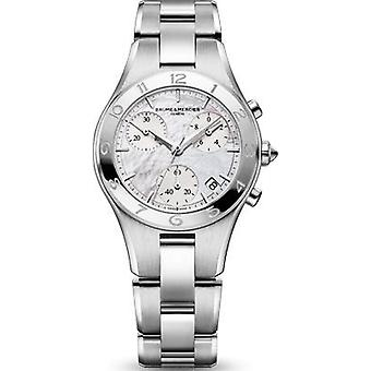 Baume & mercier watch linea round moa10012