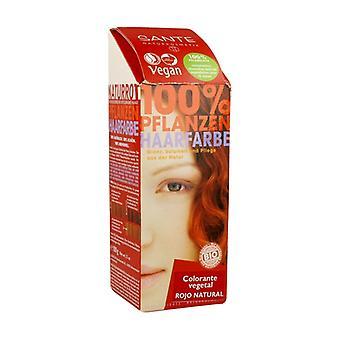 Vegetable Powder Dye Natural Red 100 g of powder