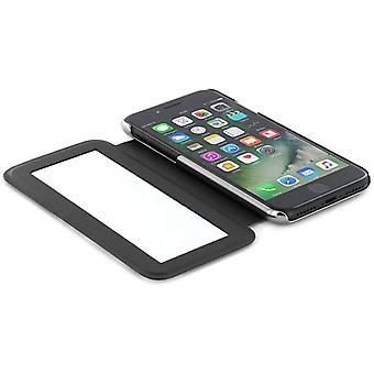 Ted Baker Mirror Case for iPhone SE 2020/8 / 7 - Sandalwood/Black Silver