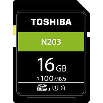 Toshiba thn-n203n0160e4 16gb n203 class 10 sd card