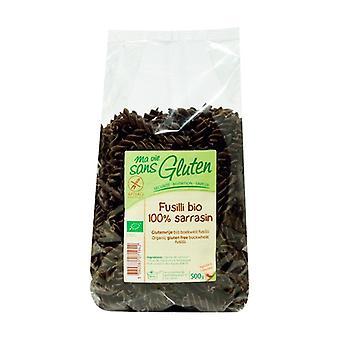 100% organic buckwheat fusilli 500 g