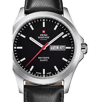 Reloj masculino militar suizo por Chrono SMP36040.11, cuarzo, 42 mm, 5ATM