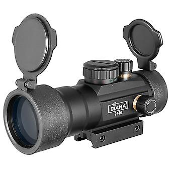 Red Green Dot Sight Scope Tactical Optics Riflescope Fit Rail Rifle Scopes