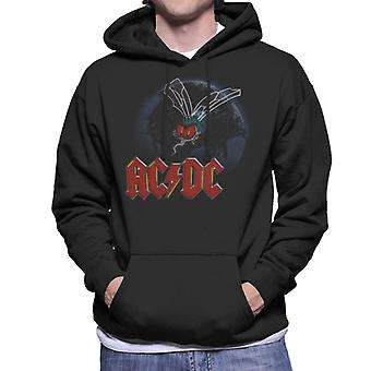AC/DC Mosquito From Above Logo Men's Hooded Sweatshirt