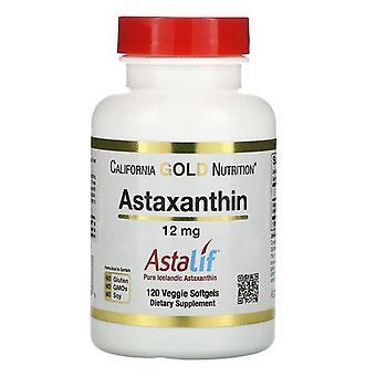California Gold Nutrition, Astaxanthin, AstaLif Pure Icelandic, 12 mg, 120 Veggie Softgels
