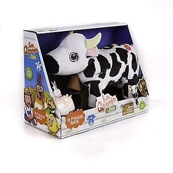 Jucărie moale cu sunete Vaca Lola en La Granja de Zen n Bandai (ES)