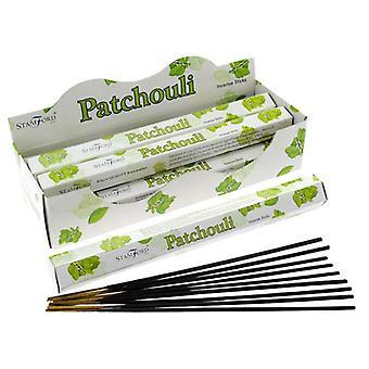 Stamford hex incense sticks - patchouli 6 supplied