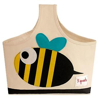 3 Sprouts Bag with handle - Bee